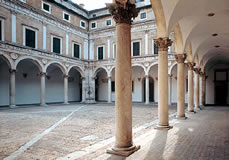 Cortile interno del palazzo ducale