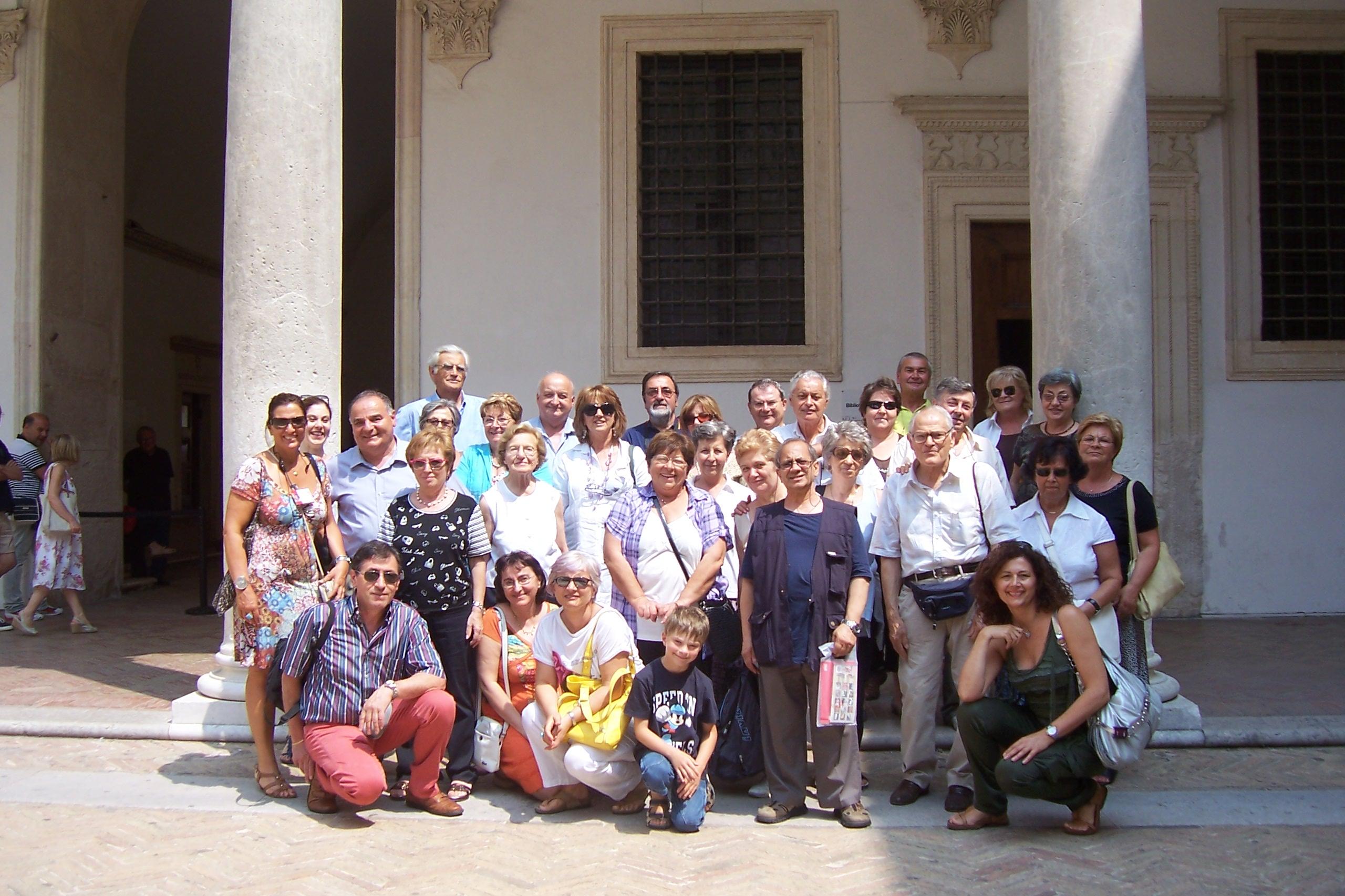 Gita ad Urbino del gruppo BCC di Castenaso