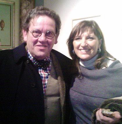 Patrizia Bucci con Philippe D'Averio