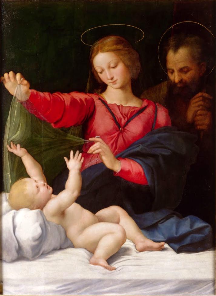 Raffaello Sanzio Madonna del Velo